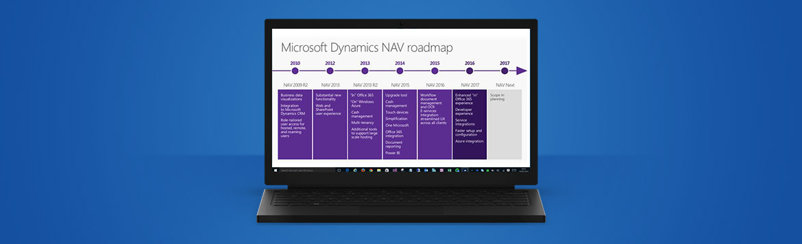 Dynamics NAV Roadmap | News about NAV 2017